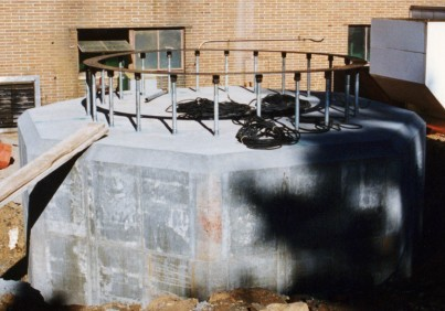 Spread Footing Foundation - Concrete Chimneys - Hoffmann, Inc.
